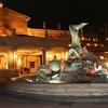 東京ディズニーシーホテルミラコスタ・夜の玄関口付近〈素敵な風景〉 ~2016年3月・Disney旅行記 東京ディズニーシーホテルミラコスタ紹介 【1】