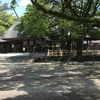都会の中、深閑としずまる熱田神宮へ行ってきました。