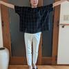 重さ72gの超軽量Tシャツ|ギンガムチェックとウインドウペン柄で大人可愛く