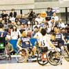 初観戦!車椅子バスケ選手権