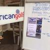 ロンドンのゴルフショップ「american golf」でミズノのフィッティングを受けた