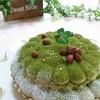 自分の為のバースディケーキを!(*^▽^*)ふわふわ抹茶のティラミスタルトとラベンダーのアイシングクッキー♪♪