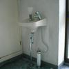 手洗い陶器移変(高さの上げ直し事例)