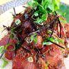 炒り胡麻たっぷり!はまちのりゅうきゅう(大分郷土料理)