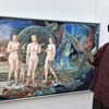 「三軌展鑑賞とラオス会の会食」