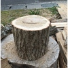 原木を頂いちゃって、久々に斧で薪割りの話