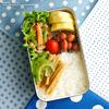 #578 野菜たっぷり簡単弁当(家弁)