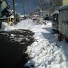 雪と角度もの家具