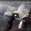 ウルトラライトプレーンから眺めるフレンチアルプス