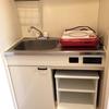 ワンルームのキッチンが狭すぎる!水切りカゴを置くスペースがどこにもない件