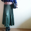 トレンドキーワード18「プリーツスカート」 URBAN RESEARCH Sonny Labelのグリーンスカート
