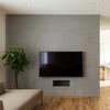 壁掛けテレビをスッキリ見せたい方必見!収納を利用した壁掛けテレビの構造