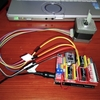 スーパーポラリス80M用のOnStepでステッピングモーターを回す実験。(wemos D1 R32 と CNCシールド3.0でonstep)