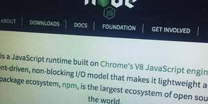 Node.jsが素晴らしすぎる