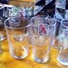 古きよきビールコップ