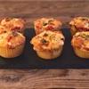 【糖質オフのマフィン】パンの代わりになるお食事系マフィンを作ってみた話。