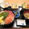 西川口の「一徳」で海鮮丼定食を食べました★