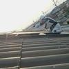 北側屋根洗浄