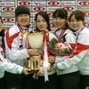 高2小谷さんがカーリングの世界選手権に出場します