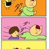 【子育て漫画】年少さんの送りは体力勝負