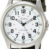 スマートウォッチ持ち込み禁止対策 シチズン Q&Q 腕時計 アナログ 防水 革ベルト QB38-304