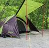 ソロキャンプの定番ツーリングドームSTのインプレ