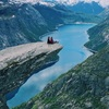 大自然を感じるノルウェー横断旅行!オスロで初サーモン旨ディナー(ノルウェー・オスロ)