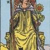 タロットカード:小アルカナ ワンドのクイーン