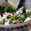 ●ヘルシーでおいしい「なっ豆腐丼」