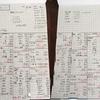 1月の家計簿(アプリから紙に変えました)