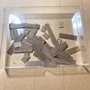 ヘリンボーンの床パネル製作過程②