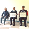 【協力隊日記】山形県酒田市の大沢コミュニティセンターにて勤務開始。大沢地区が無火災3000日で表彰。