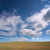 夏色の雲と  秋の雲
