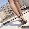 尖ったシルエットと完璧なシルエット、足型を修飾し、優雅さと美しさを完全に見せる