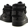 強烈なまでに黒一色の adidas Originals for CHAPTER x VANQUISH Adi-Rise BLACK/BLACK/STADS
