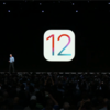 iOS12 DeveloperBeta1 リリース