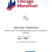 シカゴマラソン事務局より届いた確認メールの処理の仕方