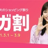 【Qoo10】メガ割購入品(3/9まで)
