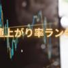 後場の株価値上がり率ランキング2021/4/14