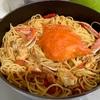 本気飯!ワタリガニのトマトスープパスタ〜実家飯!鶏のさっぱり煮、ゴーヤチャンプルー〜
