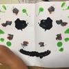 【2歳4歳育児】デカルコマニー【絵の具遊び】