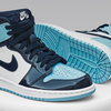 "3月14日(木) AIR JORDAN 1 RETRO HIGH OG ""UNC ALL-STAR"" OBSIDIAN/BLUE CHILL-WHITE"