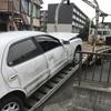 レッカー車で他人名義の車検切れ故障車を廃車の引き取りしました。