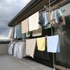 マンションの狭いベランダで洗濯物を干せない場合にアイリスオーヤマ ベランダ物干しが便利