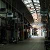 冬、尾道写真 #朝の商店街