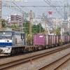 10月11日撮影 東海道線 平塚~大磯間 貨物列車2本撮影 1097レ 2079レ