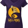 Cute The Raptor King Skellington Halloking shirt