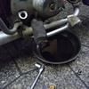#バイク屋の日常 #ホンダ #スーパーカブ #カブ主 #エンジンオイル交換