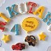 カーズ好きな4歳の男の子へ贈るアイシングクッキーGift♡