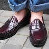 【レビュー】ドクターマーチンより2万円も安い?大学生が革靴買うなら絶対これ!1万円で買えるペニーローファー、「G.H.BASS WEEJUNS LOGAN」【脱量産型】